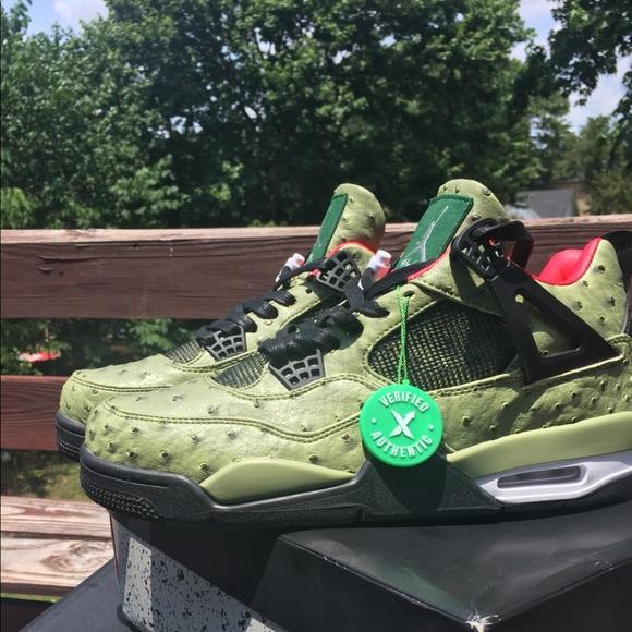 1298cd1f2c1 Jordan Shoes | 4 Shoe Surgeon X Cactus Jack Shoe Custom | Poshmark
